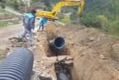 Alanya Belediyesi'nden Tepe'ye altyapı