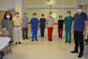 Başhekim bayramda sağlık çalışanlarını yalnız bırakmadı