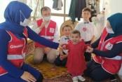 Alanya Kızılay çocukları sevindirdi