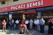 Alanya'da ünlü çorbacı kurban keserek işbaşı yaptı