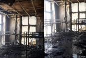 Gazipaşa Kültür Merkezi'nde yangın şoku