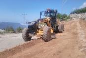 Alanya'nın kırsal mahallelerine yaz bakımı