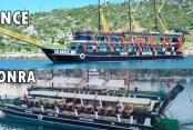 Alanya'nın en büyük korsan gemisini yeniden dizayn etti