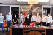 Alanya MHP'den Başsavcı Kesgin'e ziyaret