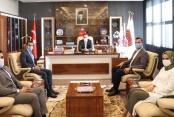 Başkan Toklu ziyaret turuna çıktı