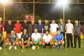 Alanya Ak Parti yönetimi dostluk maçında buluştu