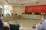 Alanya Belediyesi haftalık encümen toplantısı yapıldı