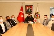 MHP Turizm Komisyonu'ndan Başkan Yücel'e ziyaret