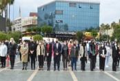 Alanya'da kadınlar  5 Aralık için toplandı