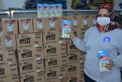 Alanya'da 545 haneye 4360 litre süt dağıtılacak