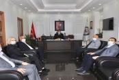 Kaymakam Ürkmezer'e Başkan Şahin'den ziyaret
