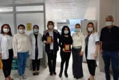 Hastaneden emektar çalışanlara vefa