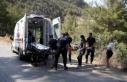 Alanya'da otomobil şarampole uçtu, 4 Rus turist...