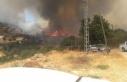 Mersin-Antalya yolu kapandı, yangın yerleşim yerlerini...