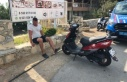 Alanya'da Rus turist, kiraladığı motosiklet...