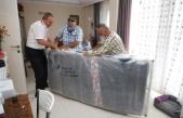 İhtiyaç sahibi Alman vatandaşa Alanya Belediyesi el uzattı