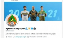Alanyaspor Twitter hesabını yorumlara kapadı