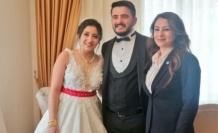 Aydoğan'ın düğün mutluluğu