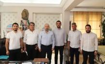 Alanya Ak Parti'den oda başkanlarına ziyaret