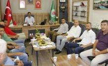 Türkdoğan'dan Ziraat Odası'na ziyaret