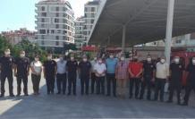 CHP'den Alanya İtfaiye Müdürü Çelik'e ziyaret