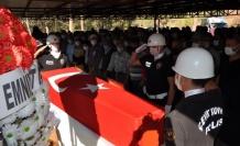 Kazada hayatını kaybeden özel harekat polisi toprağa verildi