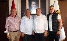 Malatyalılar Derneği'nden Başkan Şahin'e ziyaret