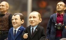Dünya liderleri kukla oldu - Video