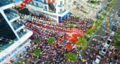 Ak Parti'den Alanya'da gövde gösterisi