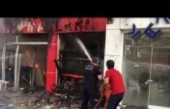 İşte Alanya'daki büyük yangın!