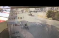 İşte Alanya'daki feci kazanın saniye saniye görüntüleri