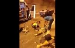 İşte Alanya'daki korkunç kazanın görüntüleri