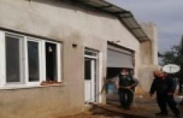 Müstakil evde çıkan yangın ucuz atlatıldı