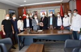 Karadağ ve yönetiminden yeni başkana ziyaret