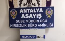 Televizyon hırsızları tutuklandı