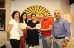 Alanya Azerbaycanlılar Derneği'nden Başkan Şahin'e ziyaret