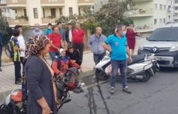 Alanya'da tüp dağıtıcı kaza yaptı: 1 yaralı