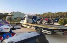 'Kaskımla Güvendeyim' projesi kapsamında 380 sürücüye 215 bin TL ceza