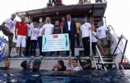Şahika Ercümen, 100 metrelik dalışla dünya rekorunun sahibi oldu