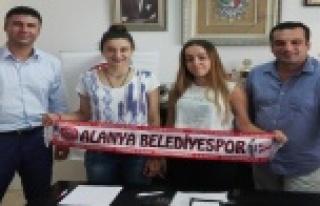 BELEDİYESPOR'A İKİ GENÇ YETENEK