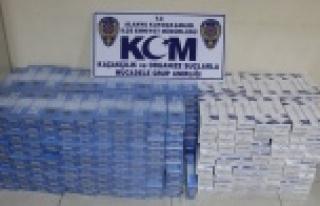 ALANYA'DA POLİS KAÇAKÇI AVINDA
