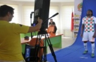 LİG TV'NİN ÇEKİMLERİNE KATILDIK