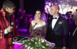 Türel o nikahı kıymak için Alanya'ya geldi