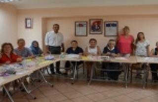 Alanya'da Asmek kurslarına yoğun ilgi