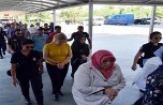 11 öğretmen FETÖ'den tutuklandı