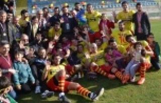 Payallarspor'da şampiyonluk coşkusu