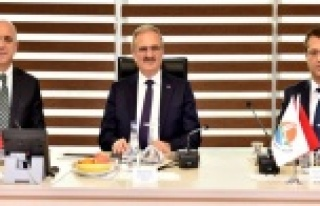 Vali, Antalya OSB'de