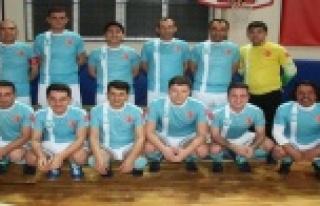 Birimler arası Futsal turnuvası başladı