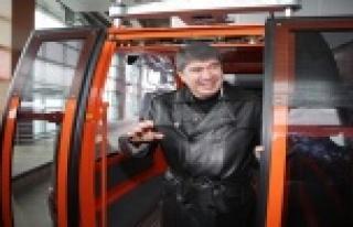 Türkiye'nin en ucuz teleferiği hizmette