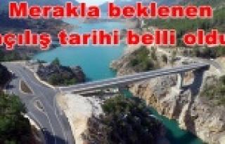 AK Köprü açılıyor